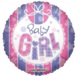 "BABY GIRL BALLOON 18""  19223-18"